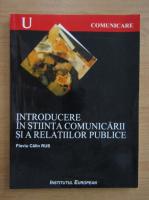 Anticariat: Flaviu Calin Rus - Introducere in stiinta comunicarii si a relatiilor publice