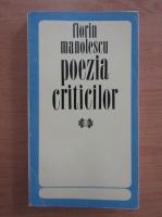 Anticariat: Florin Manolescu - Poezia criticilor