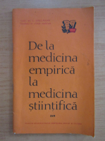 Anticariat: I. Spielmann - De la medicina empirica la medicina stiintifica