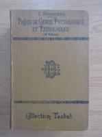 Anticariat: L. Hugounenq - Precis de chimie physiologique et pathologique