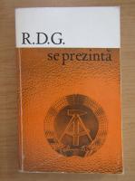 Anticariat: R. D. G. se prezinta