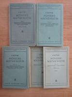 Anticariat: R. Rothe - Hohere Mathematik (4 volume)