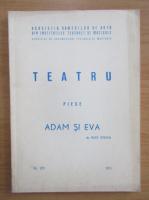 Anticariat: Rudi Strahl - Adam si Eva