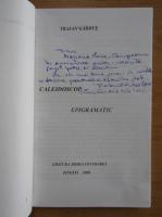 Anticariat: Traian Gardus - Caleidoscop epigramatic (cu autograful autorului)