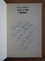 Anticariat: Violeta Zamfirescu - Cei de la casa Pindarului (cu autograful autorului)
