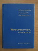 Anticariat: Alfred D. Rusescu - Terapeutica infantila