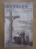 Anticariat: Annales des oblates de l'assomption, anul 1, nr. 4, octombrie 1936