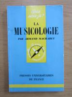Anticariat: Armand Machabey - La musicologie