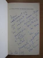 Anticariat: Constantin Crisan - Literatura romana in lume (cu autograful autorului)
