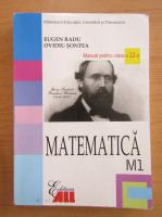 Anticariat: Eugen Radu - Matematica. Manual pentru clasa a XII-a