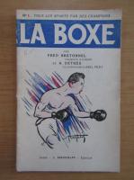 Anticariat: Fred Bretonnel - La boxe