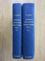 Anticariat: G. Coman - Dictionar enciclopedic german-roman (2 volume)
