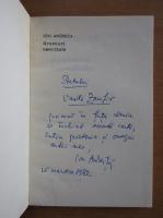 Anticariat: Ion Andreita - Drumuri esentiale (cu autograful autorului)