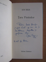 Anticariat: Ion Iuga - Tara fantanilor (cu autograful autorului)