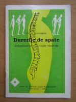 Anticariat: Laurentia Andronache - Cum prevenim durerile de spate