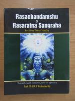 Anticariat: M. S. Krishnamurthy - Rasachandamshu or Rasaratna Sangraha