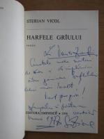 Anticariat: Sterian Vicol - Harfele griului (cu autograful autorului)