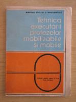 Anticariat: Tehnica executarii protezelor mobilizabile si mobile