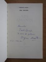 Anticariat: Virginia Musat - Ars Amandi (cu autograful autorului)