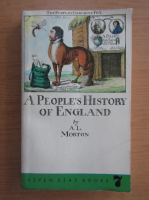 Anticariat: A. L. Morton - A people's history of England