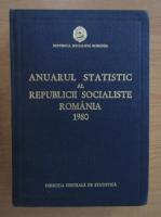 Anticariat: Anuarul statistic al Republicii Socialiste Romania 1980