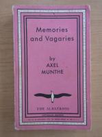 Anticariat: Axel Munthe - Memories and vagaries