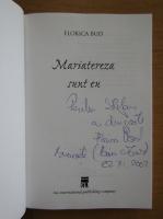 Anticariat: Florica Bud - Mariatereza sunt eu (cu autograful autorului)