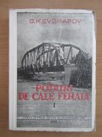 Anticariat: G. K. Evgrafov - Poduri de cale ferata (volumul 1)