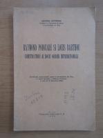Anticariat: George Sofronie - Raymond Poincare si Louis Barthou constructori ai nouii ordini internationale