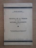 George Sofronie - Tratatul de la Trianon din 4 iunie 1920 si actiunea revizionista
