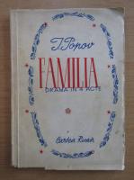 Anticariat: I. Popov - Familia