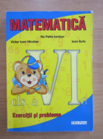 Anticariat: Ilie Petre Iambor - Matematica. Exercitii si probleme. Clasa a VI-a