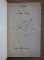 Anticariat: Ion Biberi - Tudor Vianu (cu autograful autorului)