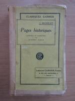 Jules Michelet - Pages historiques