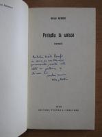 Anticariat: Mihai Nenoiu - Preludiu la unison (cu autograful autorului)