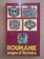 Anticariat: Roumanie. Pages d'histoire, nr. 1, 1984