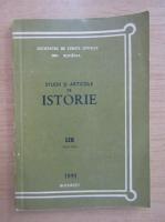 Anticariat: Studii si articole de istorie, nr. 59, 1991