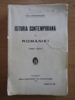 Anticariat: Titu Maiorescu - Istoria contemporana a Romaniei, 1866-1900