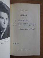 Anticariat: Traian Filip - Amar (cu autograful autorului)