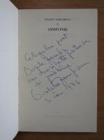 Anticariat: Violeta Zamfirescu - Simfonie (cu autograful autorului)