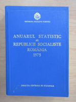 Anticariat: Anuarul statistic al Republicii Socialiste Romania 1975