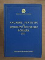 Anticariat: Anuarul statistic al Republicii Socialiste Romania 1977