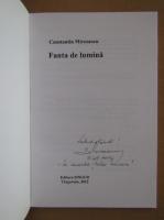 Anticariat: Constantin Mironescu - Fanta de lumina (cu autograful autorului)