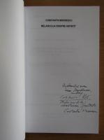 Anticariat: Constantin Mironescu - Melancolia dinspre asfintit (cu autograful autorului)