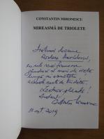 Anticariat: Constantin Mironescu - Mireasma de triolete (cu autograful autorului)