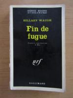 Anticariat: Hillary Waugh - Fin de fugure