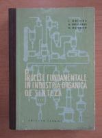 I. Drimus - Procese fundamentale in industria organica de sinteza (volumul 3)