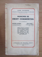 Anticariat: Jean Escarra - Principes de droit commercial (volumul 6)