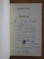 Anticariat: Marius Vulpe - Versuri (cu autograful autorului)