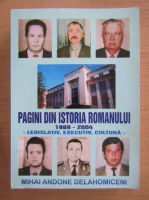 Anticariat: Mihai Andone Delahomiceni - Pagini din istoria romanului